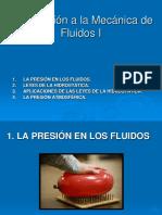 Introducción a Mecánica de Fluidos I