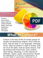 Culture-Morality