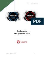 Reglamento FFL Qualifiers 2020-1