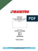 Operator Manual 260 - 280 TJ