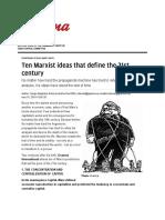 marxist idea
