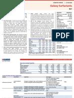 Galaxy Surfactants - Update - Jan20 - HDFC sec-202001170612407324133