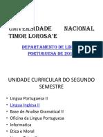 UNIVERSIDADE NACIONAL TIMOR LOROSA'E
