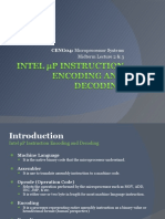 Intel 8086 Instruction Format