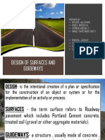 DESIGN OF SURFACES AND GUIDEWAYS (1)
