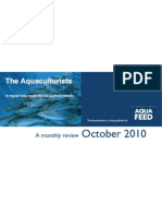 Aquaculturist - October 2010