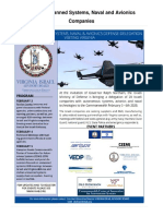 VA Governor Northam Invites Israeli Ministry of Defense to Richmond! (( Companies List for Delegation v2 ))