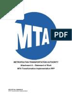 01 MTA Transformation Implementation_Statement of Work