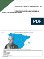 Cómo se dibujaron las provincias en España
