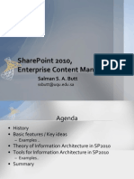 Microsoft SharePoint 2010 - Enterprise Content Management (ECM)