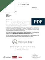 Cotización Mercedes Sprinter 415 CDI Panel