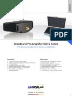 Broadband-Preamplifier