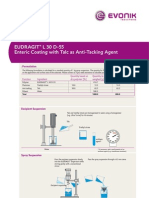EUDRAGIT® L 30 D-55 - Enteric Coating with Talc as Anti-Tacking Agent