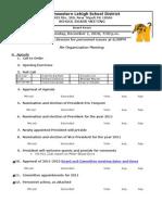 Agenda 12-1-10