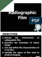 Lec 3. Radiographic Film
