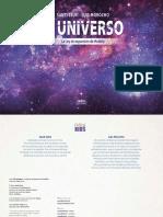 El universo, la ley de expansión de Hubble cómic de Nou editorial