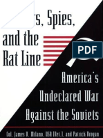 Soldiers, Spies, and the Rat Line - James V. Milano;Patrick Brogan