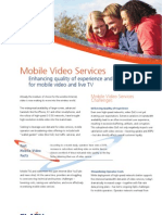 Mobile Video Services