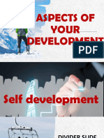 Aspects of your development