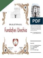 Buletinul Fundației Urechia Nr. 20, An 2019