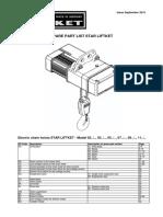 Catalogo Spare Parts Star Liftket