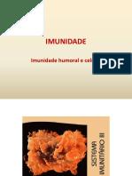 Imunidade  humoral e celular 12