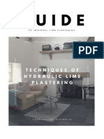 A Guide to Internal Lime Plastering - Roundtower Lime