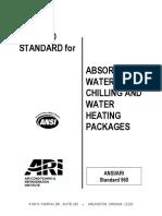 ARI 560-2000
