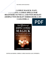 simple-candle-magick-easy-powerful-candle-spells-for-beginners-to-wicca-and-witchcraft-simple-witchcraft-series-book-2-by-cassandra-l
