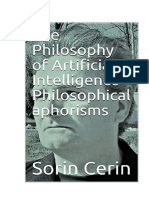 The Philosophy of Artificial Intelligence - Philosophical aphorisms by Sorin Cerin