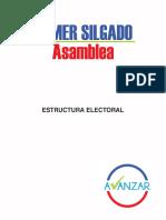 Modelo estructura electoral