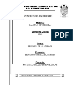 HOJA DE PRESENTACION