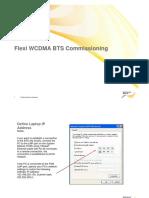 Flexi WCDMA BTS Commisioning