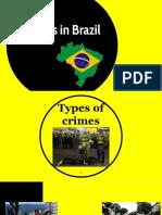 Crimes in Brazil .pptx