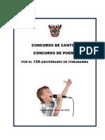 CONCURSO DE CANTO 2020
