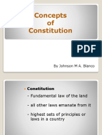 concepts of constitution