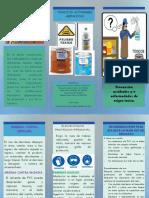 folleto toxicologia