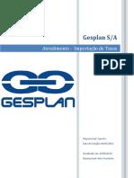 Gesplan - Checklist Importação de Taxas