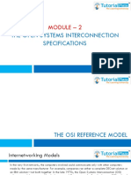 Module 02 - The Open Systems Interconnection Specifications