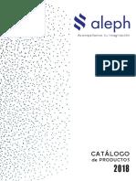 Catalogo Aleph 2018