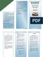 TRIPTICO FINANZAS PUBLICA Y POLITICA FISCAL