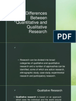 Lesson 4 Differences Between Quantitative and Qualitative Research