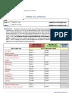 final nursing skills checklist copy