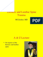 Thoracic and Lumbar Spine