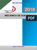ENSAYO DE PROCTOR 2018