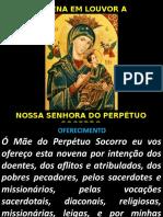 Novena de Nossa Senhora do Perpétuo Socorro