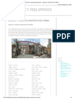 ARCHITECT PHILIPPINES_ ENGLISH - TAGALOG CONSTRUCTION TERMS