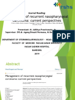 Management of recurrent nasopharyngeal