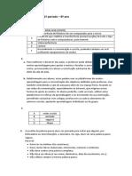 TIC - 8º ano - Teste de avaliação 1º período - Soluções