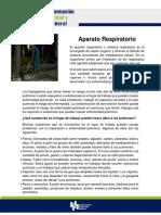 FORMACION DE SEGURIDAD Y SALUD LABORAL- 10.-  Aparato respiratorio